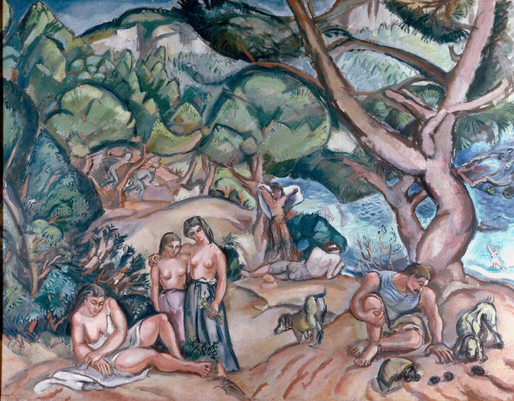 Émile-Othon Friesz, Cassis ou Paysage idéal, 1910