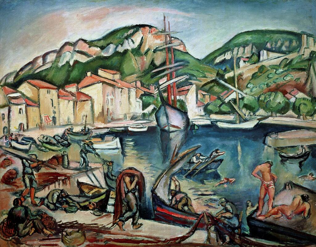 Émile-Othon Friesz, Port de La Ciotat, 1908