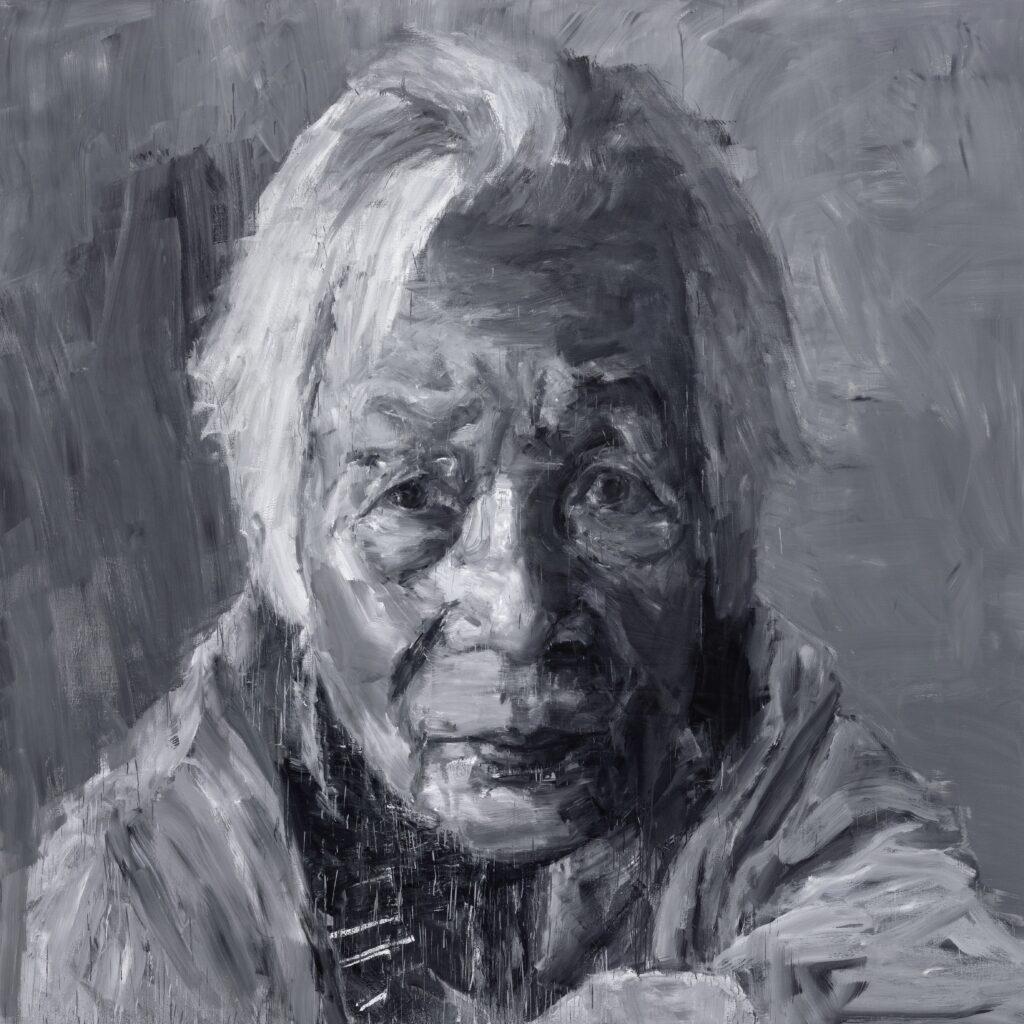 Yan Pei-Ming, Ma mère, 2018