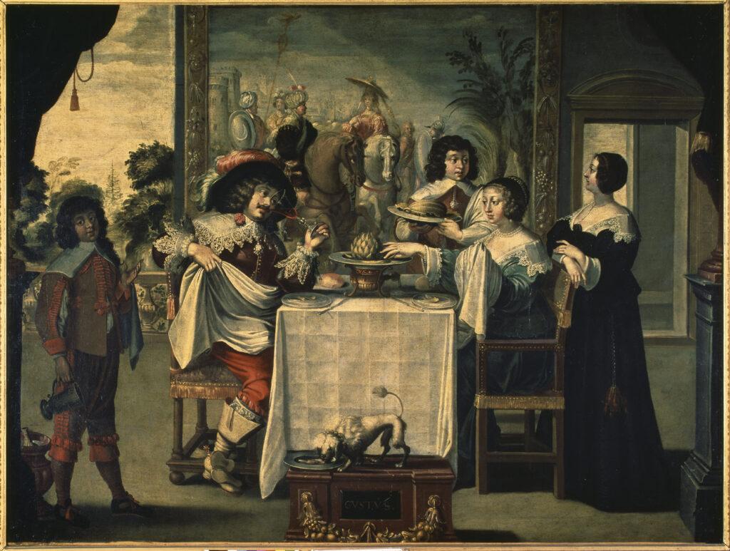 Les Cinq sens, Le Goût, d'après Abraham Gosse, après 1635