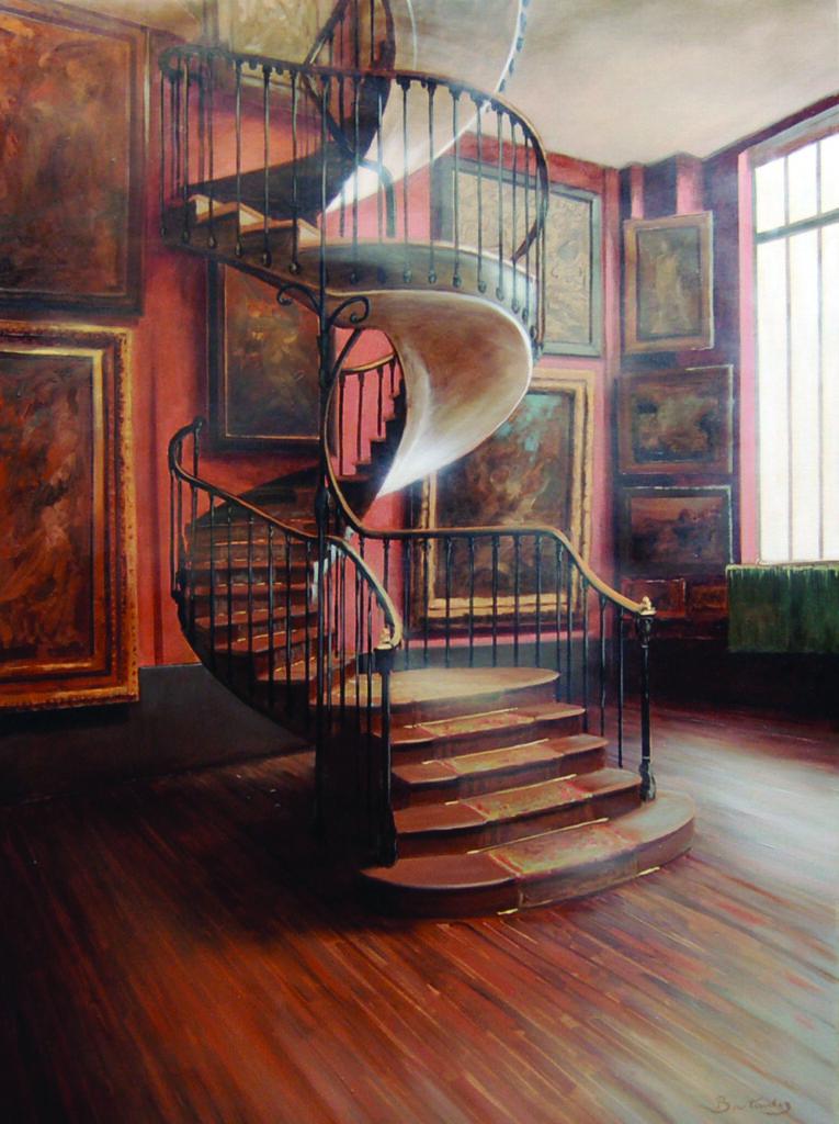 Patrick bastardoz, Escaliers Moreau 1