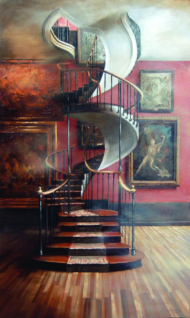 Patrick Bastardoz, Escaliers Moreau 2