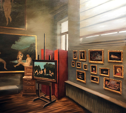 Patrick Bastardoz, Musée Henner 1