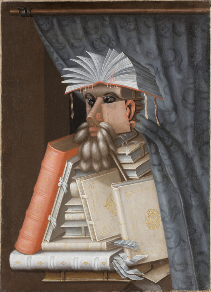 Giuseppe Arcimboldo, Le Bibliothécaire, 1562