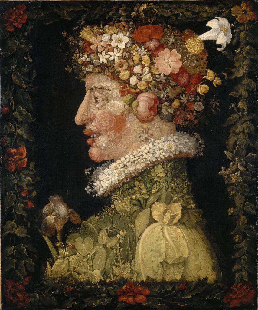 Le Printemps, Arcimboldo, 1573