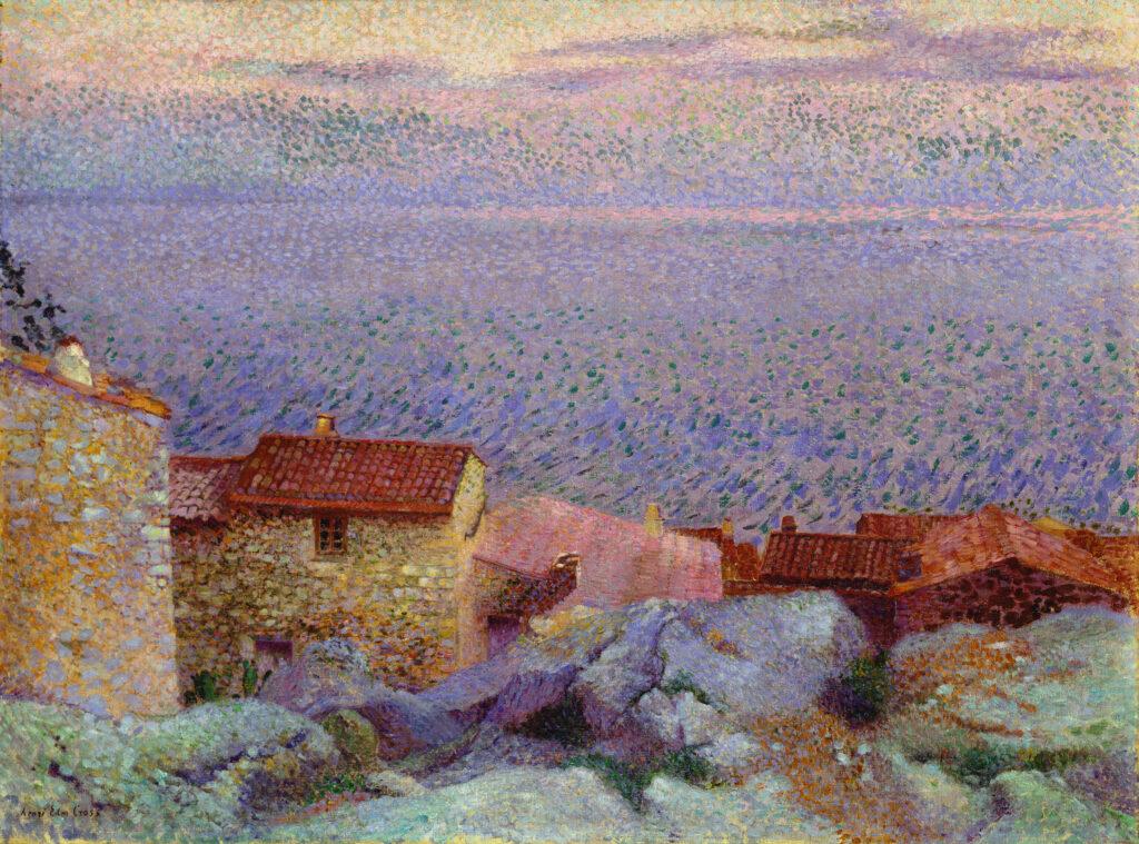 Henri-Edmond Cross, Paysage côtier