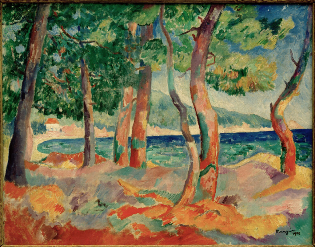 Henri Manguin, La pinède de Cavalière, 1906