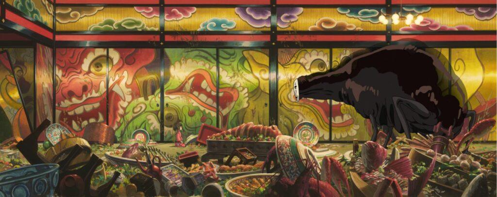 Le banquet du Sans visage (Le Voyage de Chihiro)
