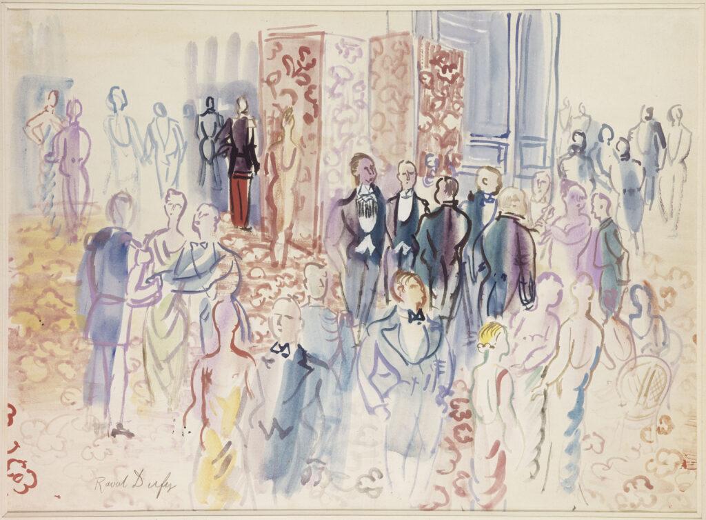 Raoul Dufy, La réception, 1931-1935