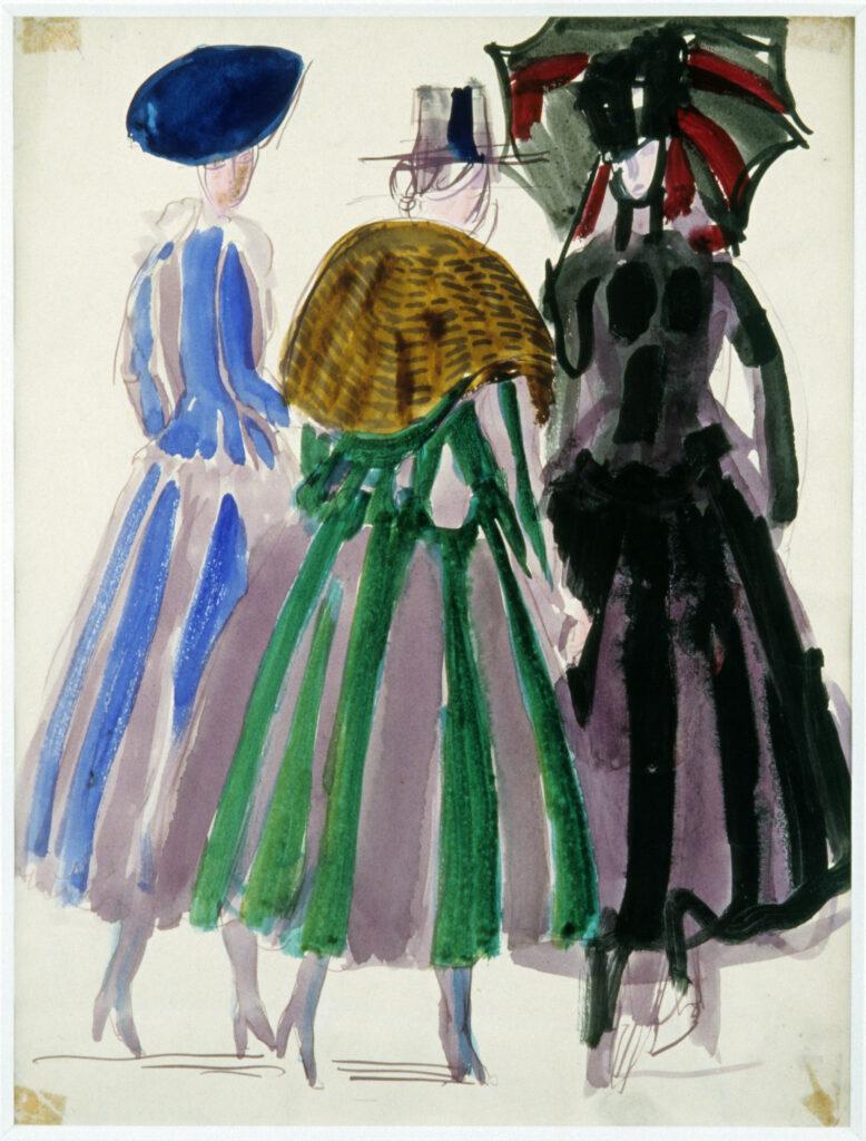 Raoul Dufy, Robes de la maison Poiret, 1920