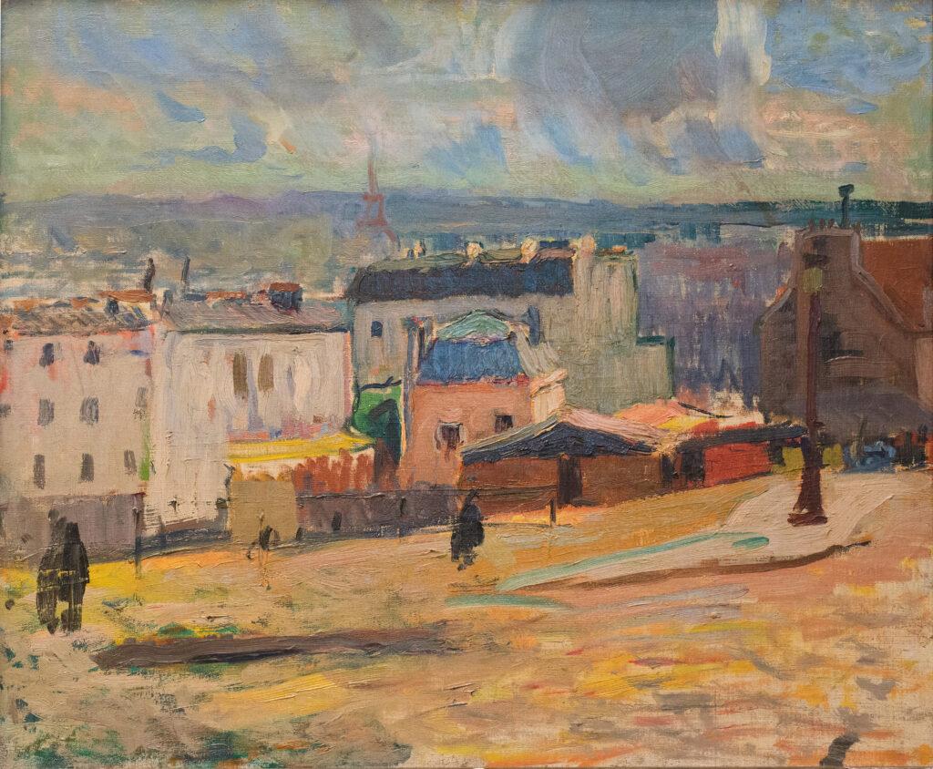 Raoul Dufy, Vue de Paris depuis Montmartre, 1902