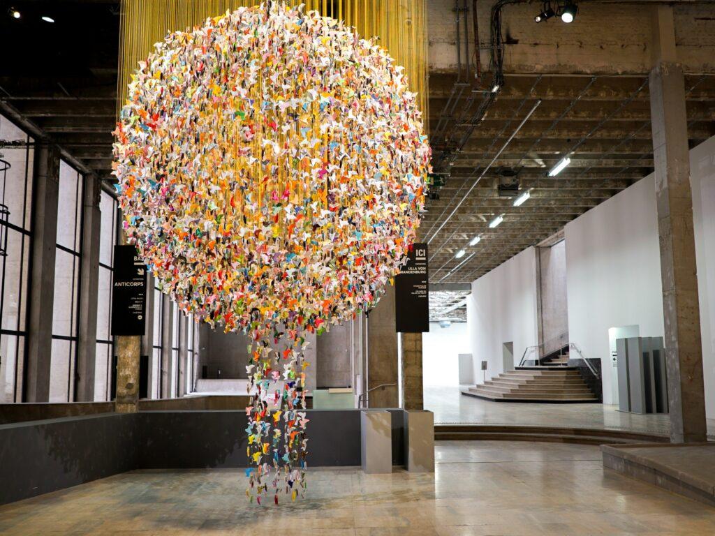 Origami for Life, vue de l'installation, Janvier 2021