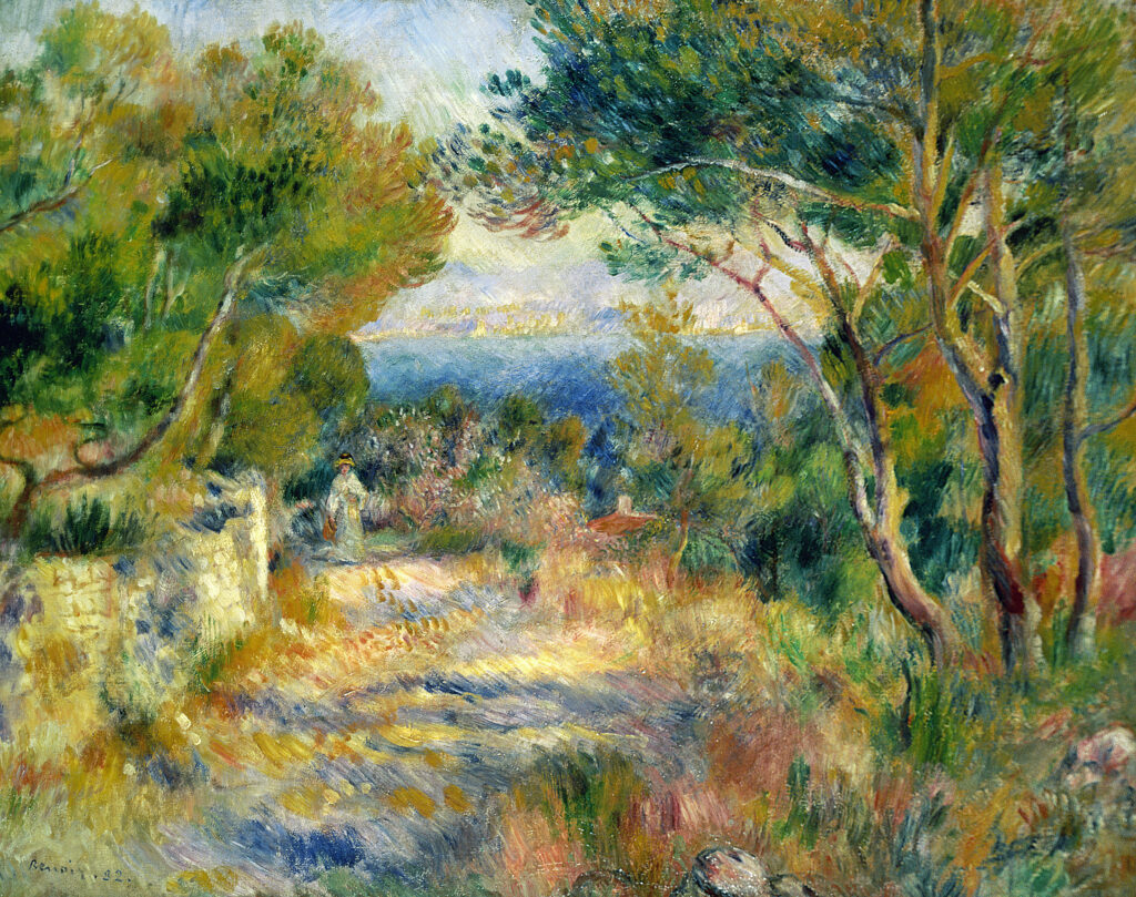 Pierre Auguste Renoir, L'Estaque, 1882