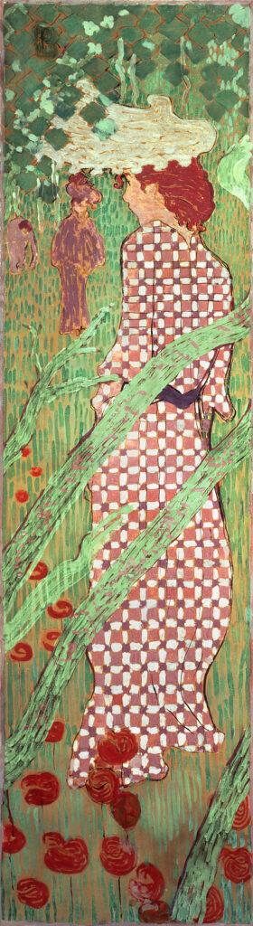 Pierre Bonnard, Femmes au jardin, 1891