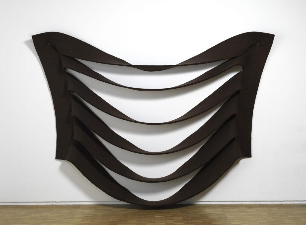Robert Morris, Wall Hanging,1969-1970