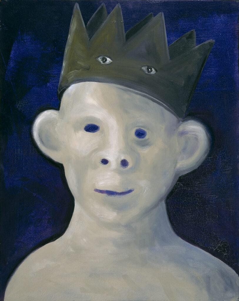 Rosemarie Trockel, Sans titre (Le petit roi), 1985