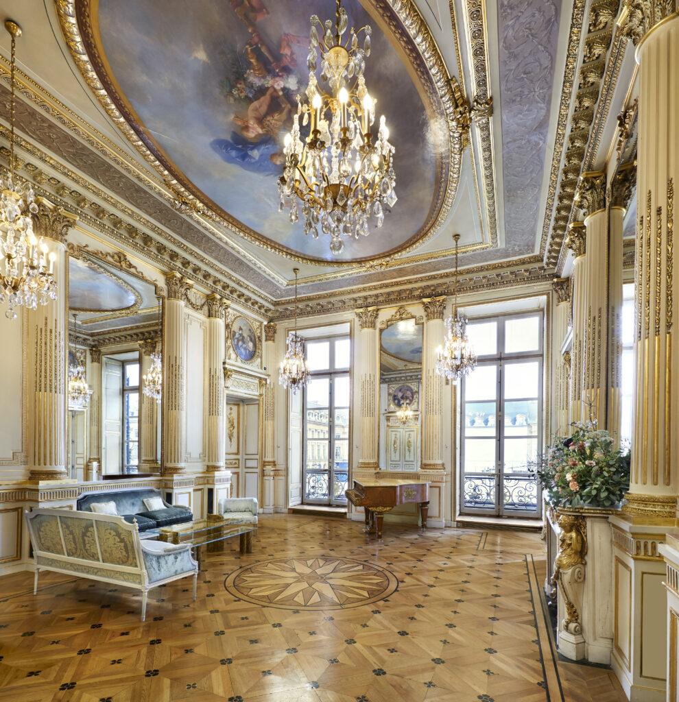 Les salons de la maison Chaumet, 12 place Vendôme
