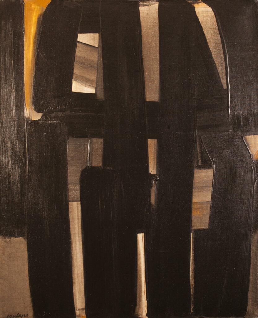 Pierre Soulages, Peinture, 1974