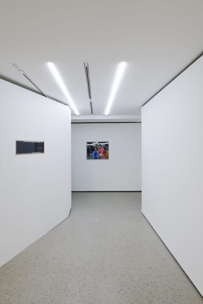 Vue de l'exposition Le Juste Prix.