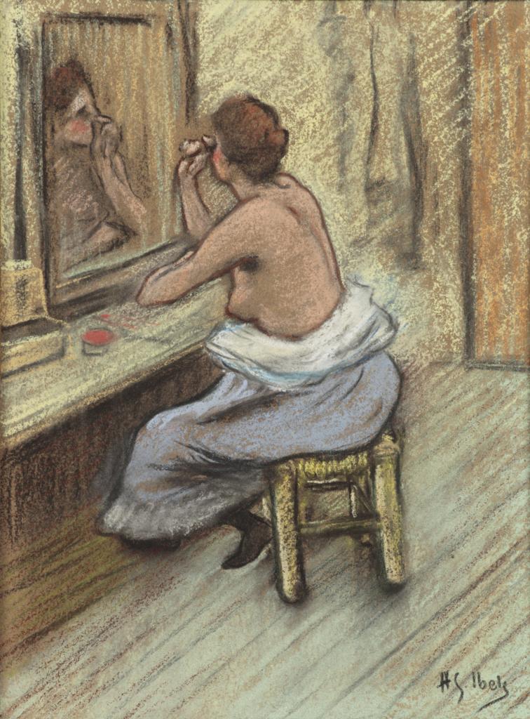 Henri Gabriel Ibels, Mensonge, vers 1895