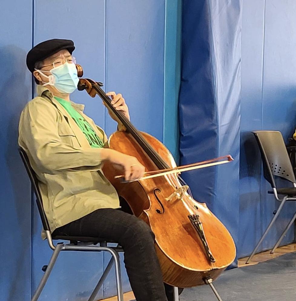 Concert de Yo-Yo Ma au Berkshire Community College, 13 mars 2021