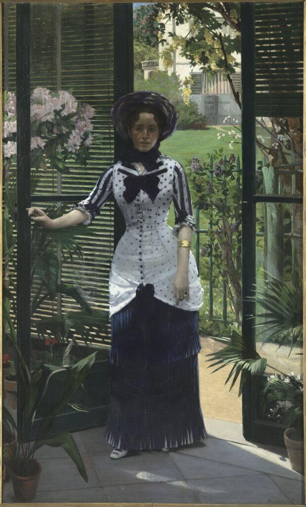 Albert Bartholomé, Dans la serre, vers 1881