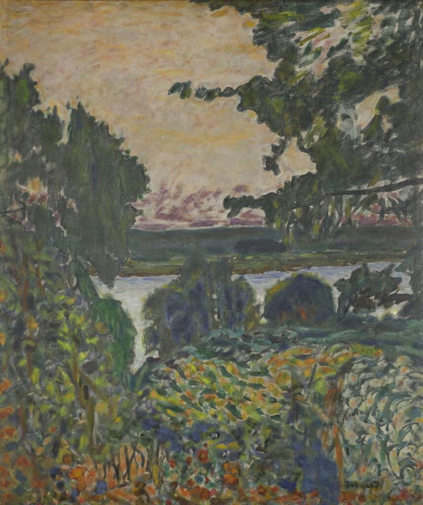 Pierre Bonnard, La Seine à Vernon, 1915