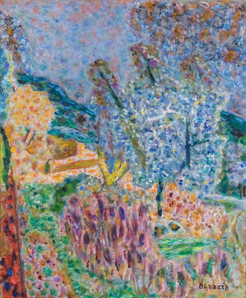Pierre Bonnard, Le jardin, 1945