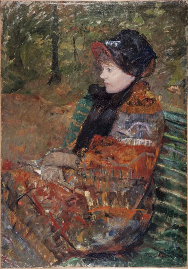 Mary Cassatt, Autonme - Portrait de Lydia Cassatt, 1880