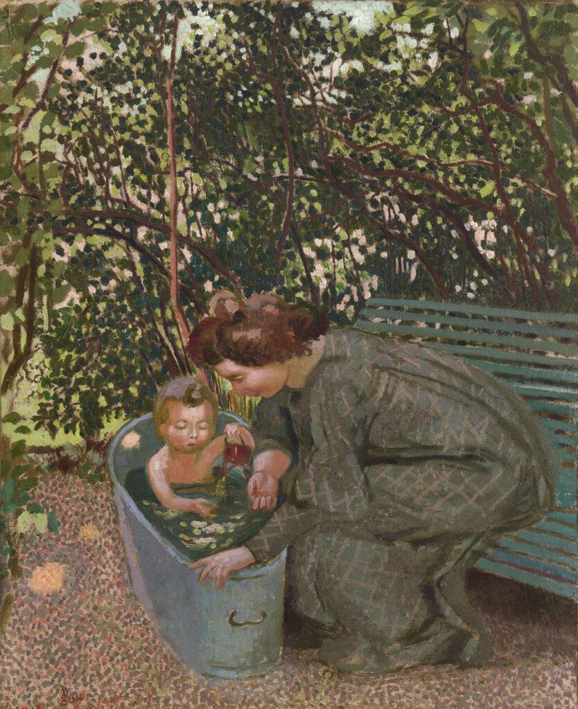 Maurice Denis, Le Bain en plein air, 1904