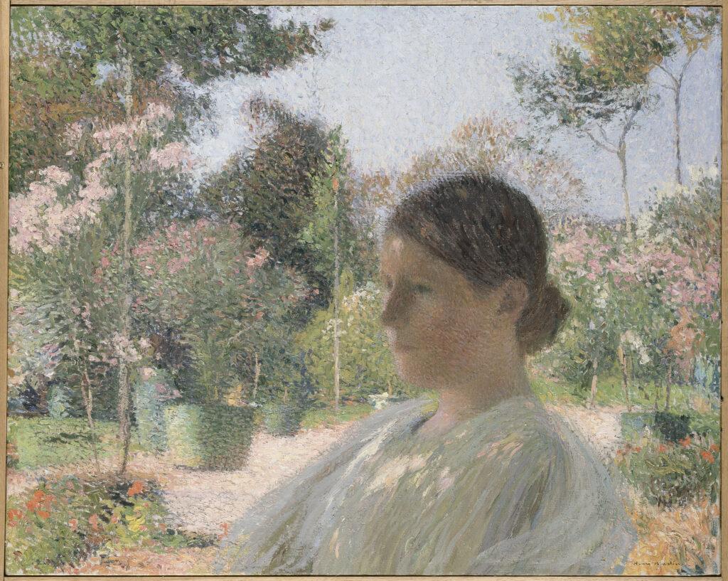 Henri Martin, Jardins en fleurs, vers 1910
