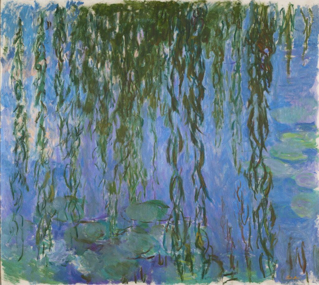 Claude Monet, Nymphéas avec rameaux de saule, 1916-1919