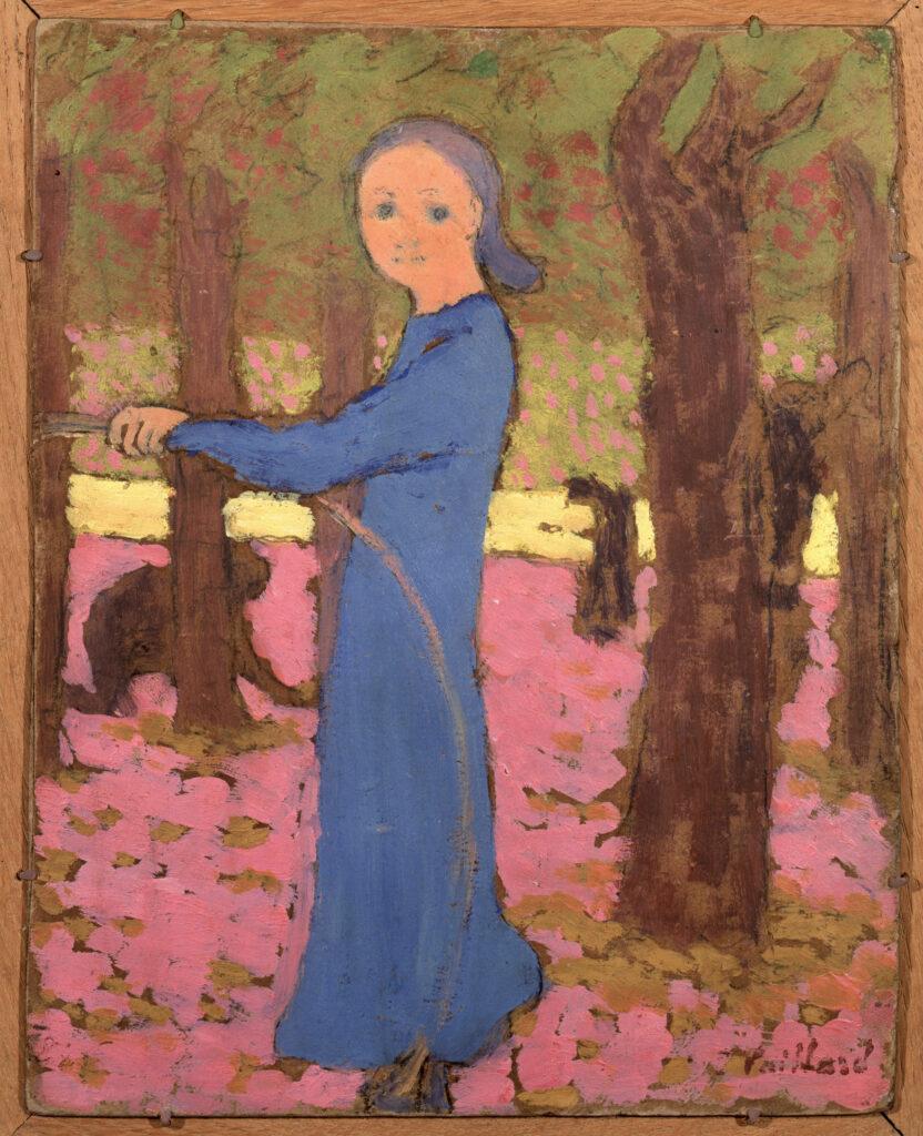Edouard Vuillard, La fillette au cerceau, vers 1891