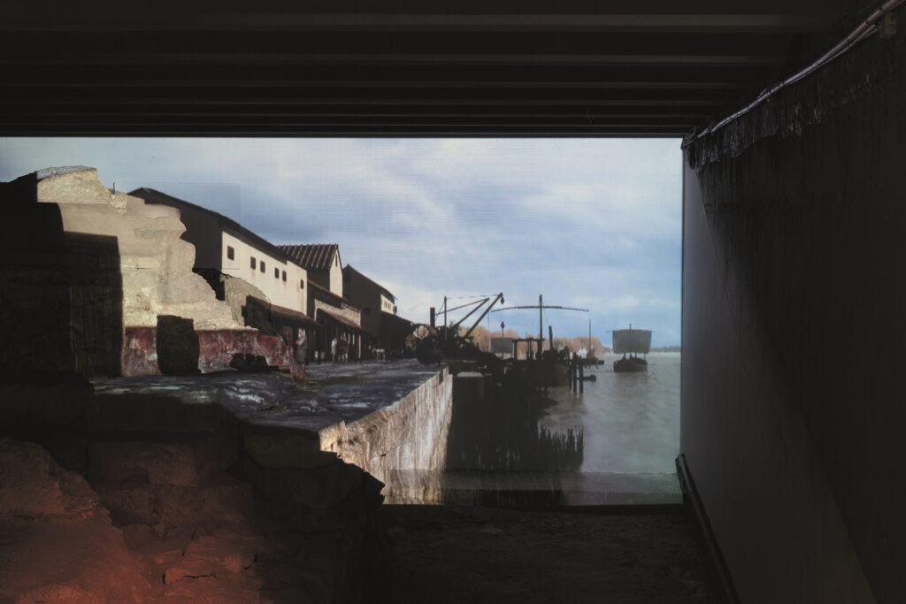 Quai du port de l'antique Lutèce, Crypte archéologique de l'île de la Cité