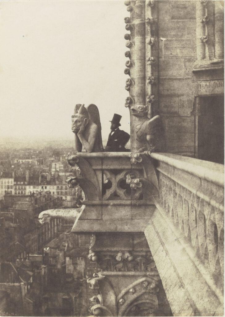 Charles Nègre (1820-1880), Le Stryge, vers 1853