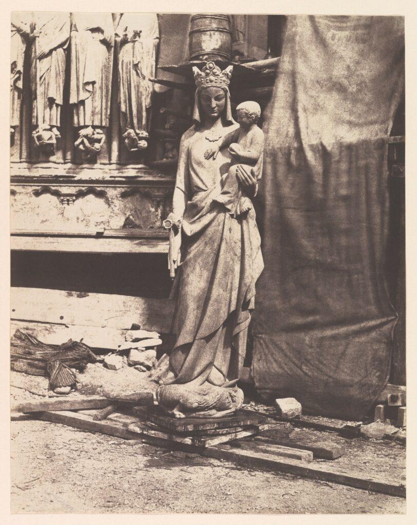 Auguste Mestral, Vierge de Geoffroy-Dechaume, vers 1854