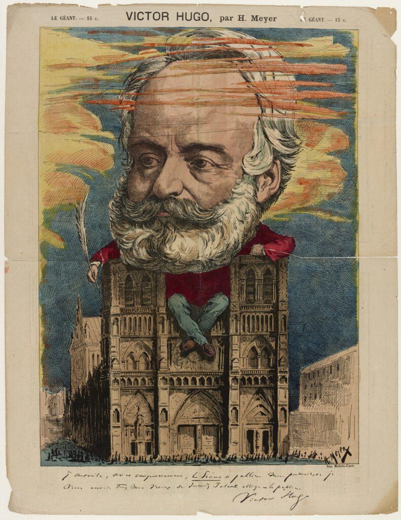 Henri Meyer, Victor Hugo, Le Géant, 26 avril 1868