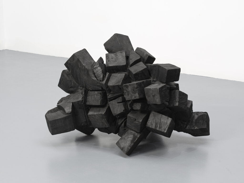 David Nash, Cube Mass, 2010-2020