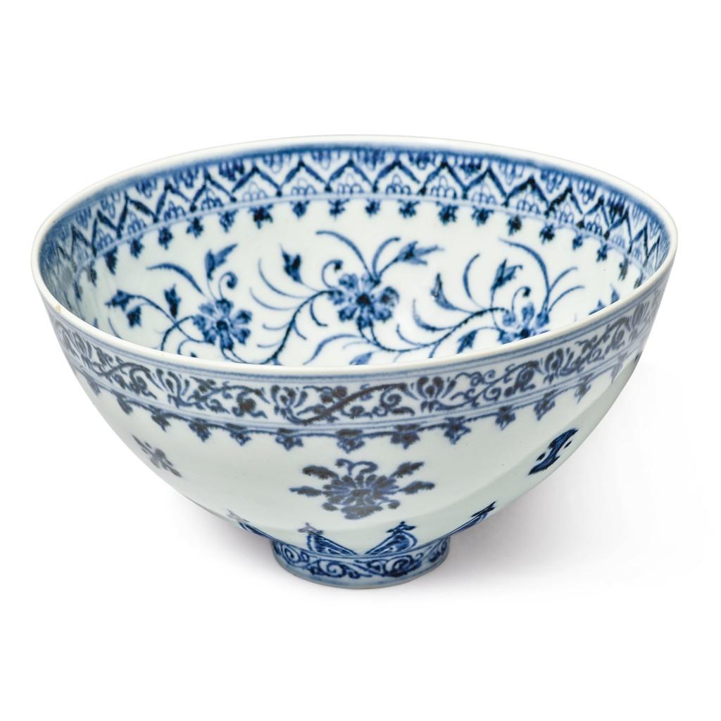 Dynastie Ming, bol en porcelaine, XVème siècle