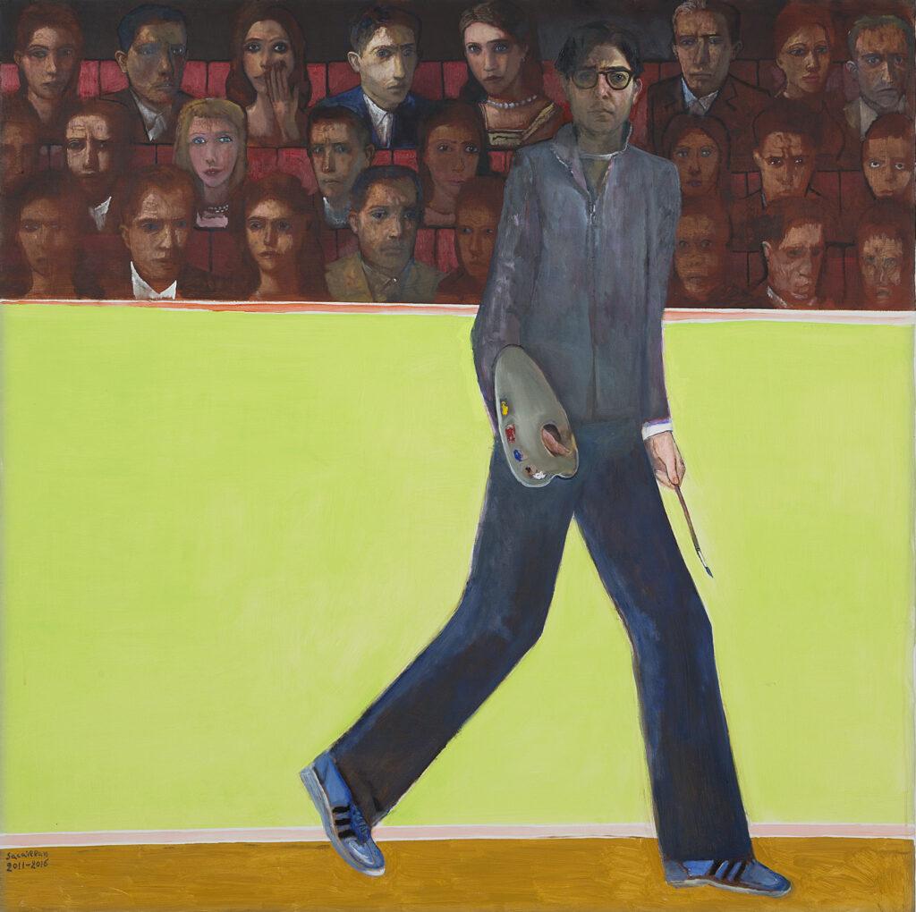 Edouard Sacaillan, Le peintre et les spectateurs, 2011-2016