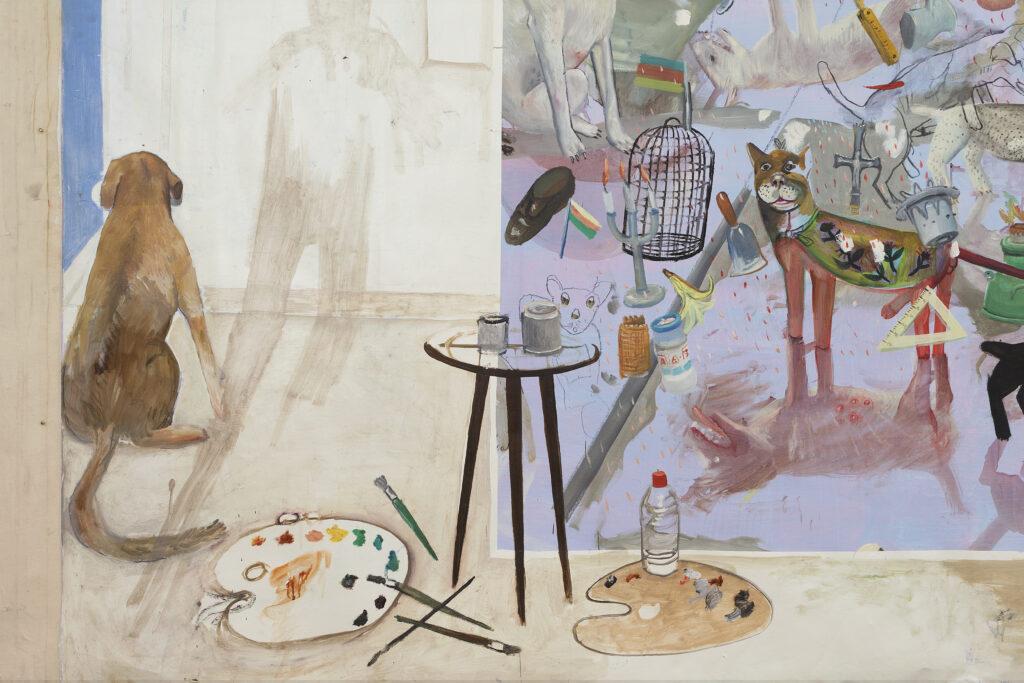 Edouard Sacaillan, Les domestiques, 1990-95