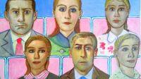 Edouard Sacaillan, Galerie Minsky, Spectateurs III, Edouard Sacaillan, 2021