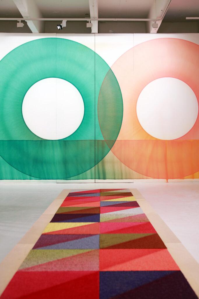 Vue de l'exposition Colors, etc (vue d'ensemble 1) ® maxime dufour photographies