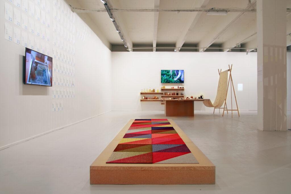 Vue de l'exposition Colors, Tripostal de Lille (2)