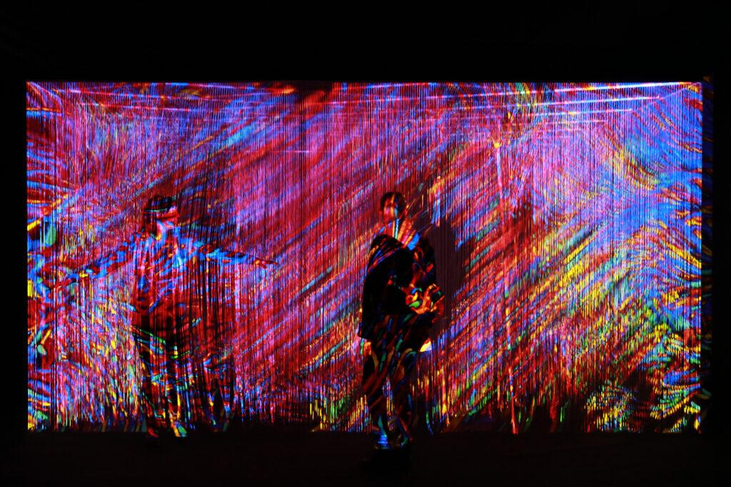 Vue de l'exposition Colors, Tripostal de Lille, Georg Lendorff - First Light - 2021 (2)