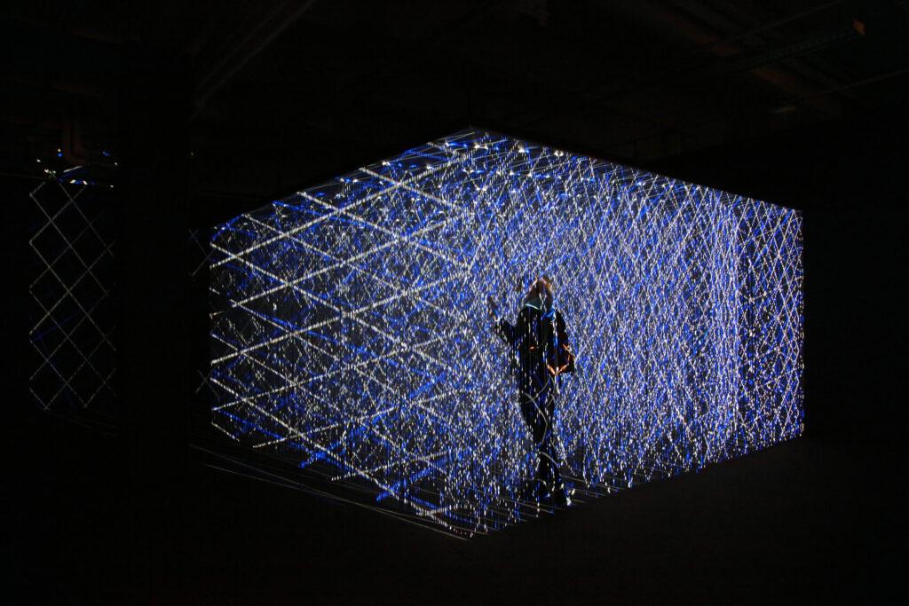 Vue de l'exposition Colors, Tripostal de Lille, Georg Lendorff - First Light - 2021 (3)