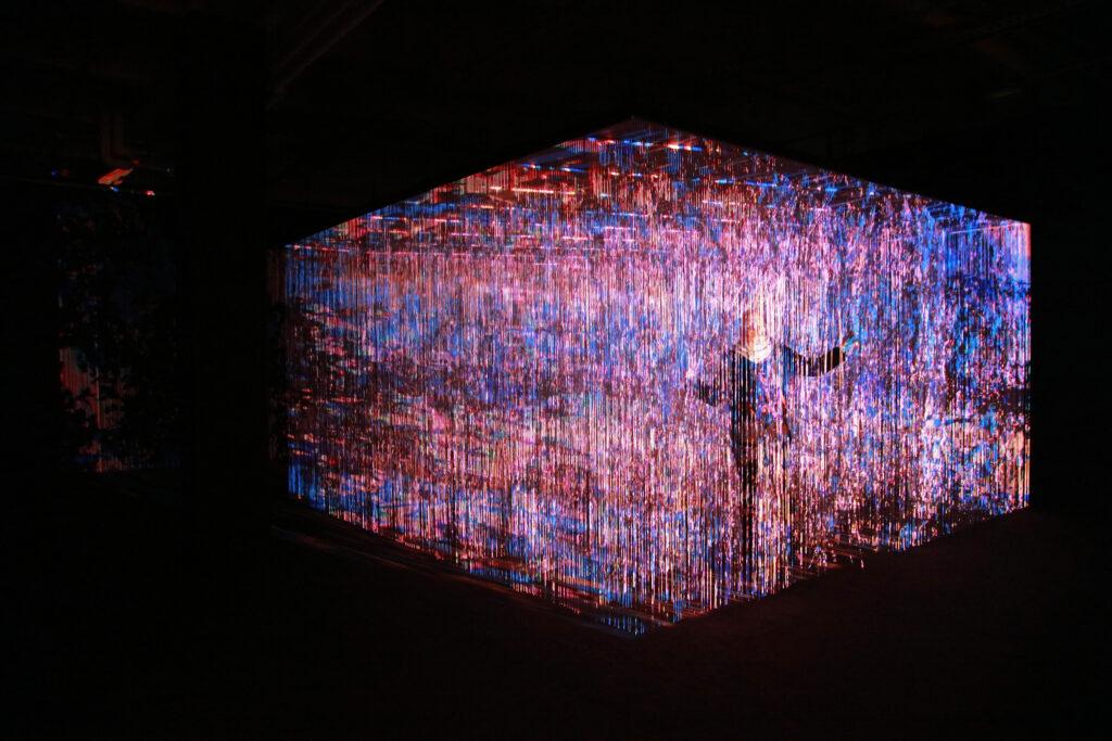 Vue de l'exposition Colors, Tripostal de Lille, Georg Lendorff - First Light - 2021 (4)