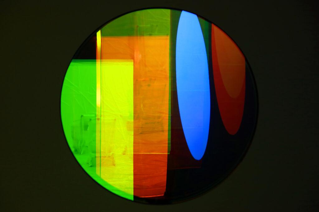 Vue de l'exposition Colors, Tripostal de Lille, Jordan Södeberg Mills - Lucis Aeternae The Reflection of Eternal Light and a Spotless Mirror - 2019