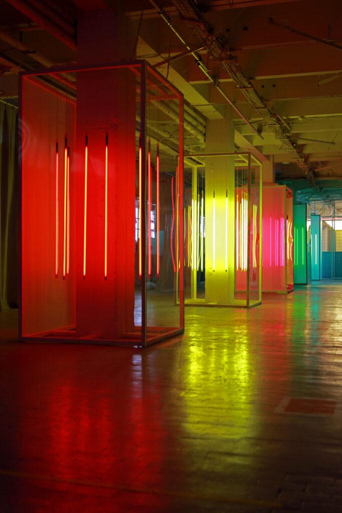 Vue de l'exposition Colors, Trispotal de Lille, Liz West - Remain in Light - 2021 (2)
