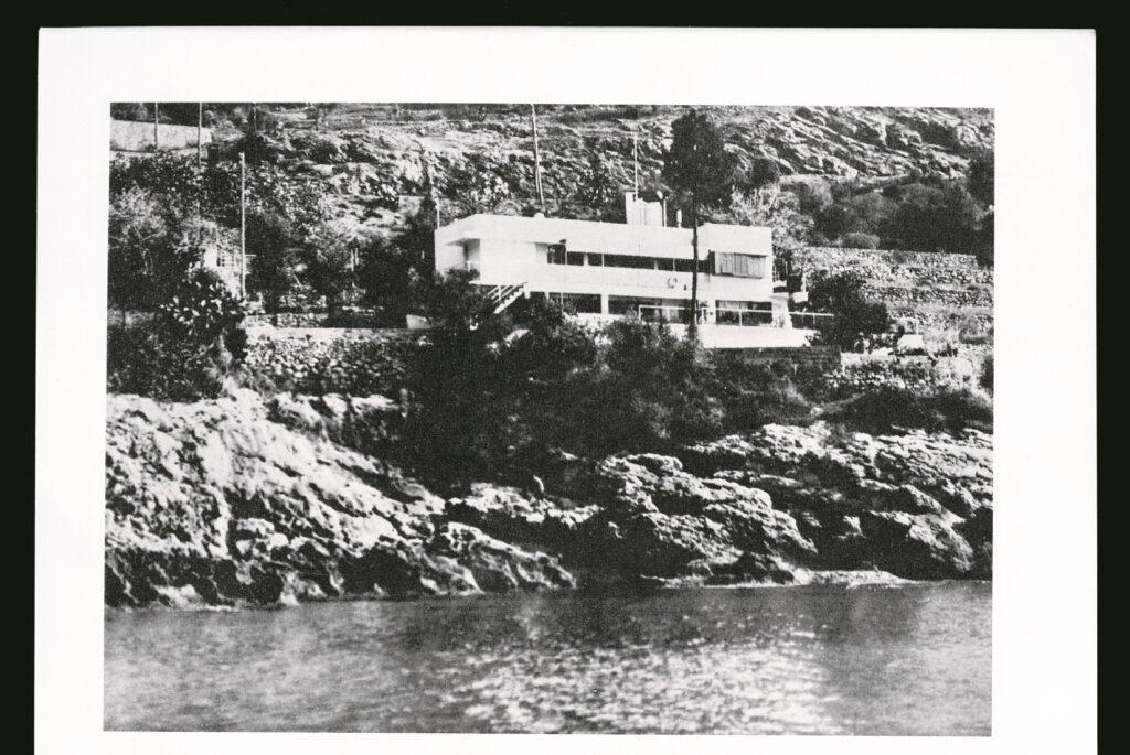 La villa E-1027, Roquebrune-Cap-Martin, Eileen Gray et Jean Badovici,1926-1929.